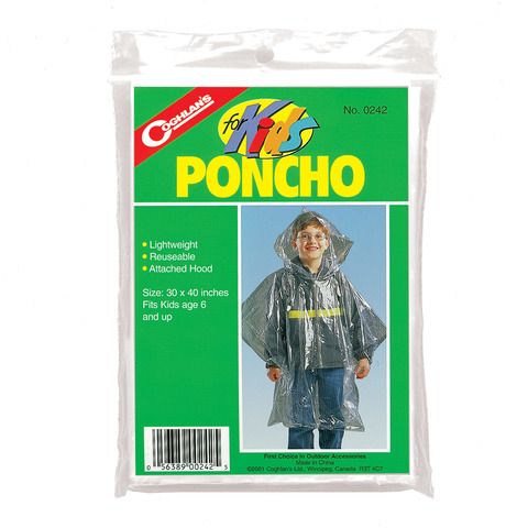Coghlan Poncho - Kids - Outdoor Gear