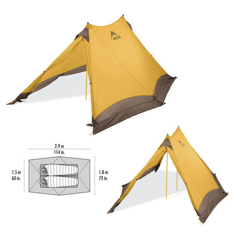 MSR Twin Sisters V2 Tent - Outdoor Gear
