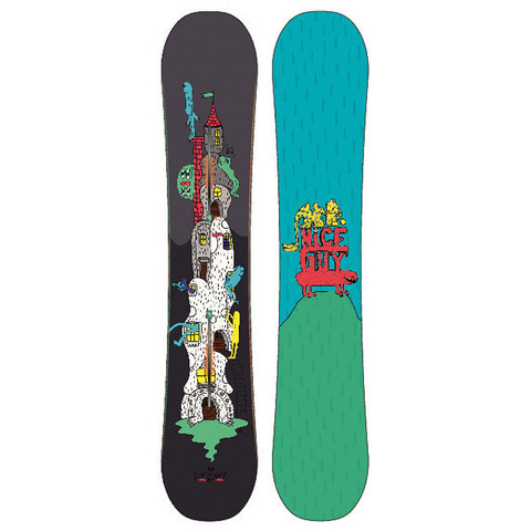Burton Mr. Nice Guy Restricted Snowboard