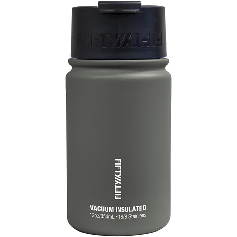 Made of lightweight stainless steel this double wall vacuum insulated water bottle is non-leaching recyclable and will not retain taste or odor. Even better? The double-wall technology prevents condensation on the outside of the bottle. Keep contents hot or cold all day.