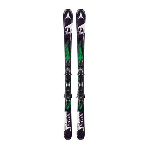 Atomic Nomad Blackeye Skis with XTO 12 Bindings 2016