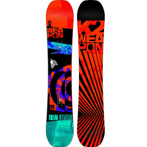 K2 World Wide Weapon Snowboard 2014