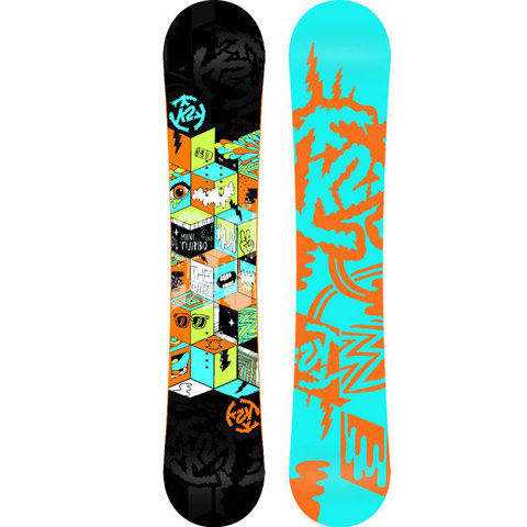 K2 Mini Turbo Snowboard - Kids' 2014