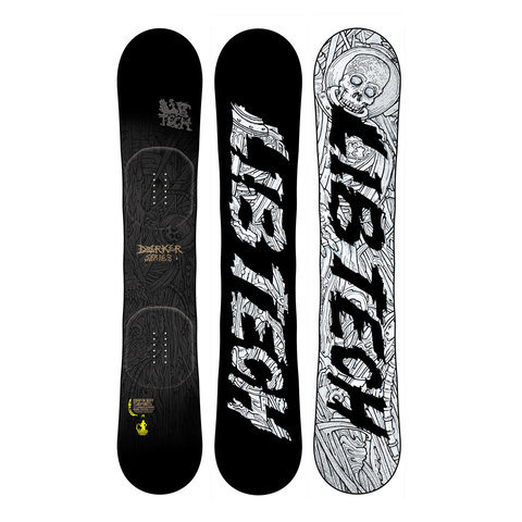 Lib Tech Darker Series C3 BTX Snowboard 2014