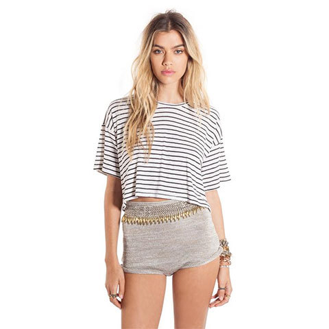 Amuse Society Harper Crop Tee - Outdoor Gear