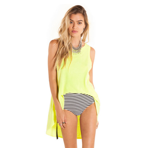 Amuse Society Zahara Solid Tank Top