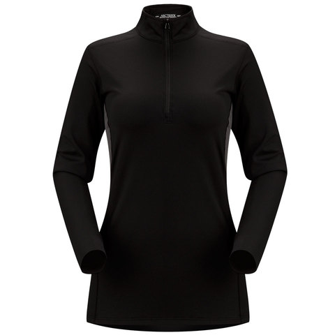 Arcteryx Phase AR Zip Neck L/S - Womens