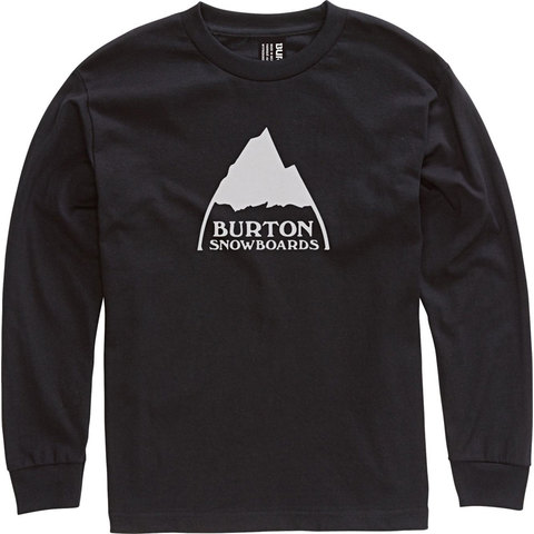 Burton Mountain Logo L/S Shirt - Boys'