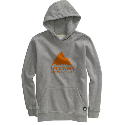 Burton Mountain Logo Pull Over Hoody - Boys'