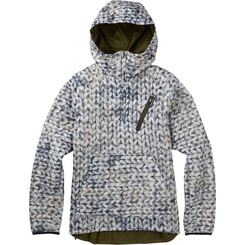 Burton Cabin Insulated Pullover Jacket - Womens