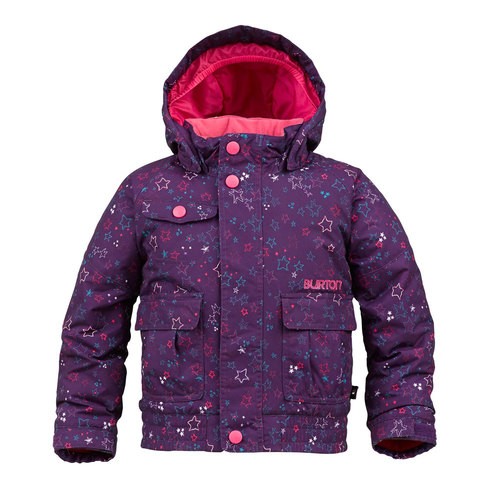 Burton Minishred Twist Bomber Jacket - Girl's