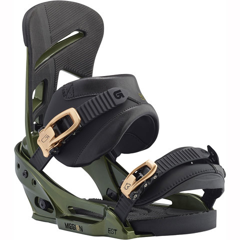 Burton Mission EST Snowboard Bindings - Outdoor Gear
