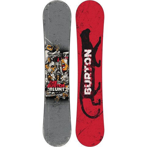 Burton Restricted Blunt Snowboard Wide