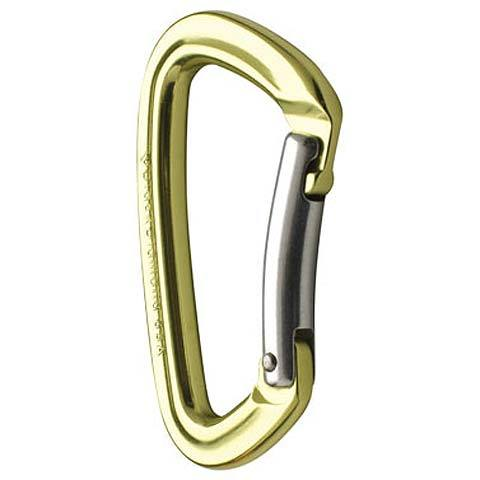Black Diamond Positron Bent Gate Carabiner - Outdoor Gear
