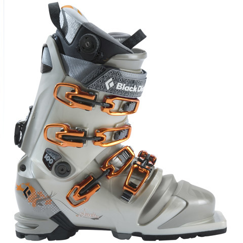 Black Diamond Stilleto Telemark Ski Boots - Womens - Outdoor Gear