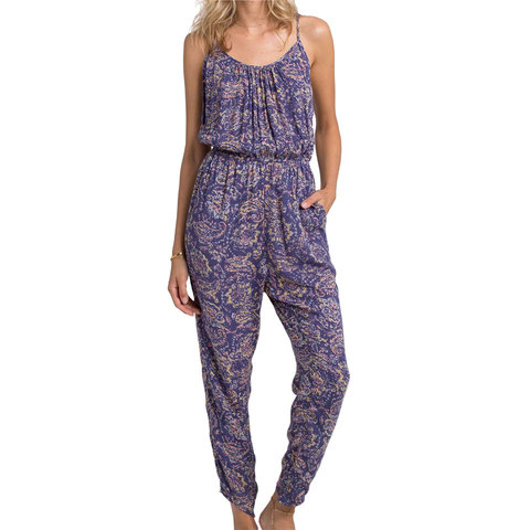 Billabong Drifters Gold Jumpsuit - Women's