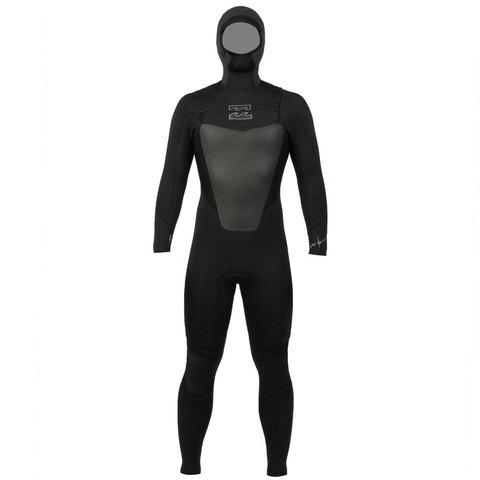 Billabong 504 Foil Hooded Chest Zip Wetsuit