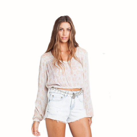 Billabong Forever Sun Crop Top - Womens