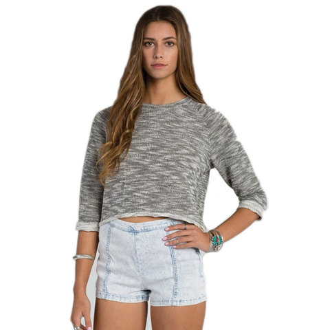 Billabong Getting By Solid Pullover - Womens
