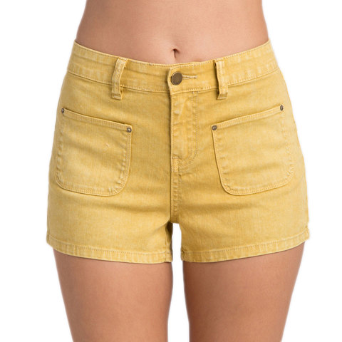 Billabong That 70s Memory Denim Shorts - Women's