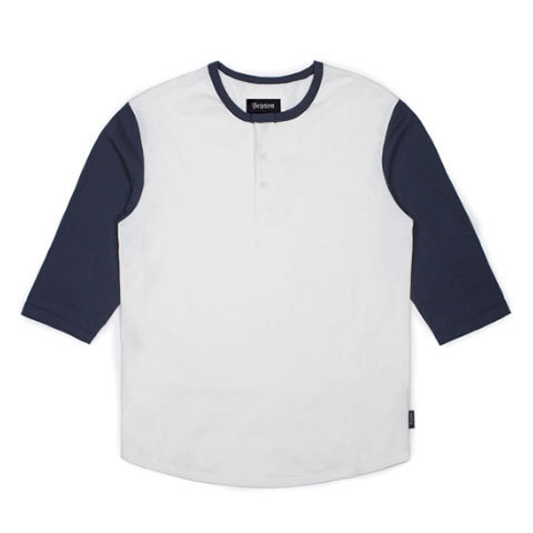 Brixton Adam 3/4 Henley - Outdoor Gear