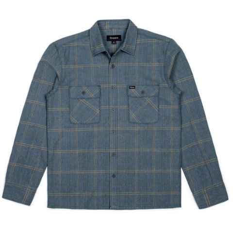 Brixton Archie Long Sleeve Flannel - Mens - Outdoor Gear