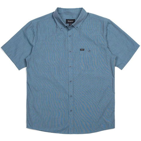 Brixton Central S/S Woven Shirt - Outdoor Gear