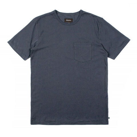 Brixton Chaplin S/S Pocket Knit - Outdoor Gear