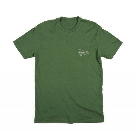 Brixton Fury S/S Pocket Tee - Outdoor Gear