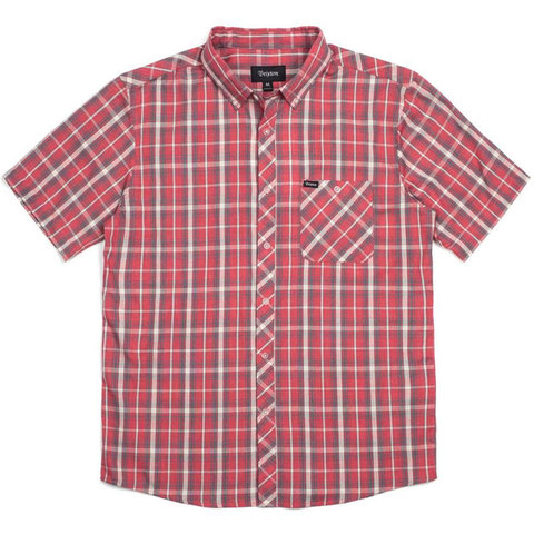 Brixton Howl Woven Short Sleeve Shirt - Outdoor Gear