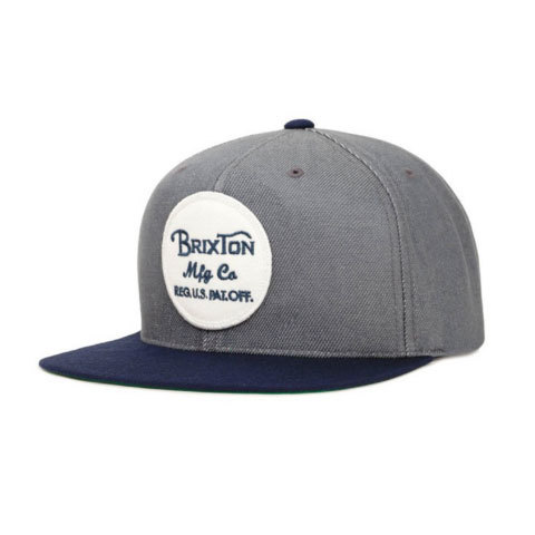 Brixton Wheeler Snap Back Hat - Outdoor Gear