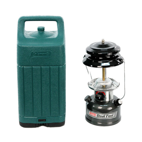 Coleman Dual Fuel Lantern w/ Carry Case