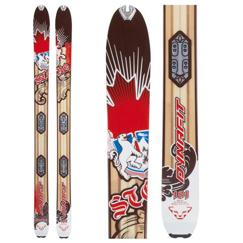 Dynafit Stoke Freeride Alpine Touring Skis - 2012