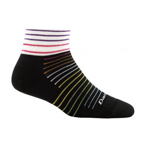 Darn Tough Vermont Pinstripe 1/4 Sock Ultra Light Socks - Women's