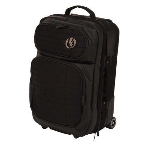 Electric Small Block Roller Bag Colors Available: BLK.