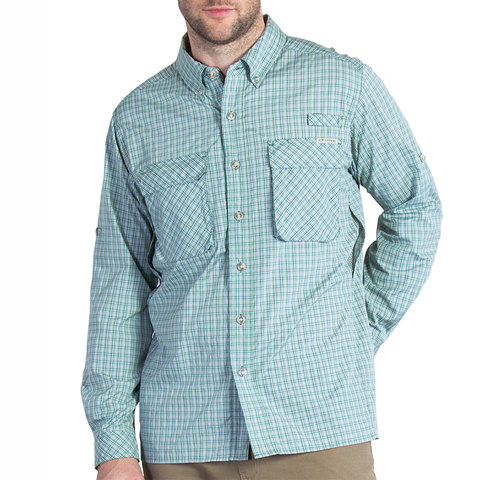 Ex Officio Air Strip Micro Plaid L/s - Outdoor Gear