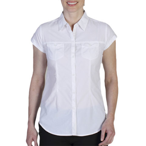 Ex Officio Dryflylite Cap S/S Shirt - Womens