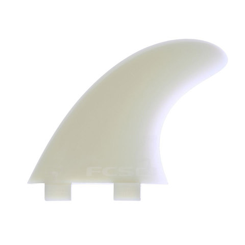 FCS M3 Natural Glass Tri-Fin Set