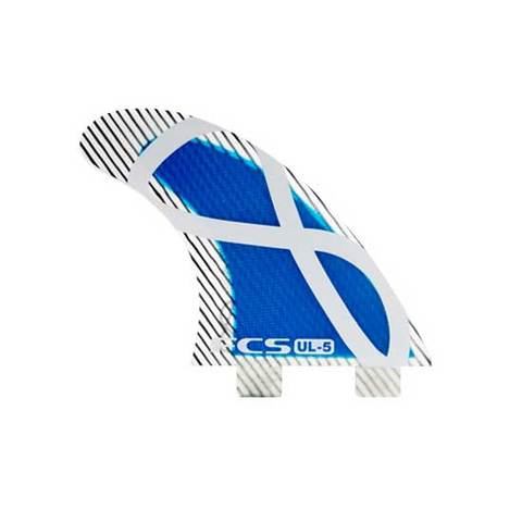 FCS UL 5 Blue Tri Fin Set