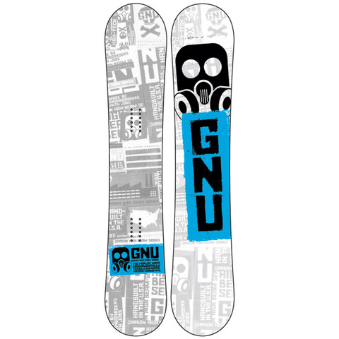 Gnu Carbon High Beam Series Snowboard