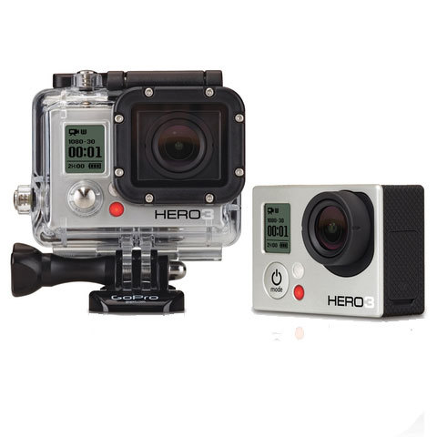 GoPro HD Hero3: Silver Edition