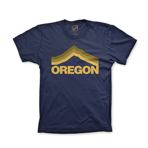 Grafletics Mt Hood Tee - Outdoor Gear