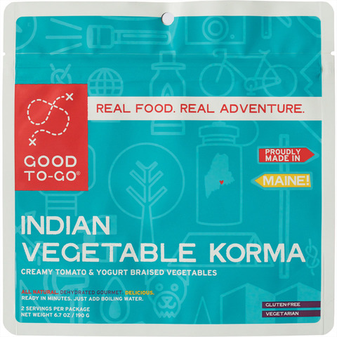 Good To Go Indian Vegetable Korma Double Serving