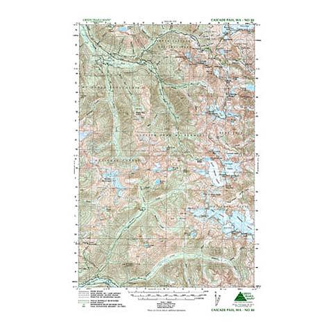 Green Trails Maps Cascade Pass