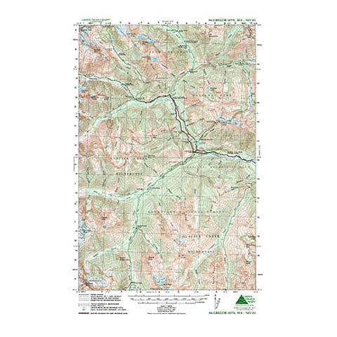 Green Trails Maps McGregor Mountain