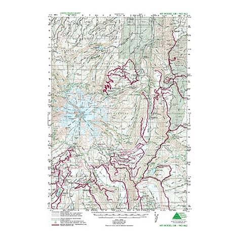 Green Trails Maps Mt Hood
