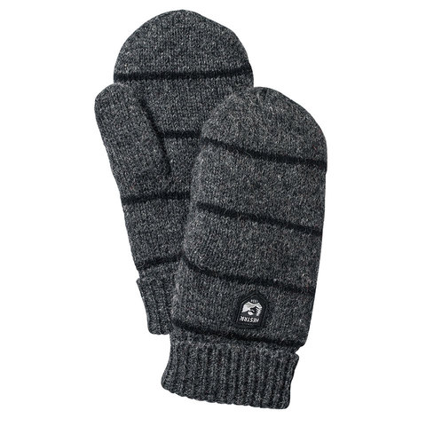Hestra Striped Wool Mitt - Outdoor Gear