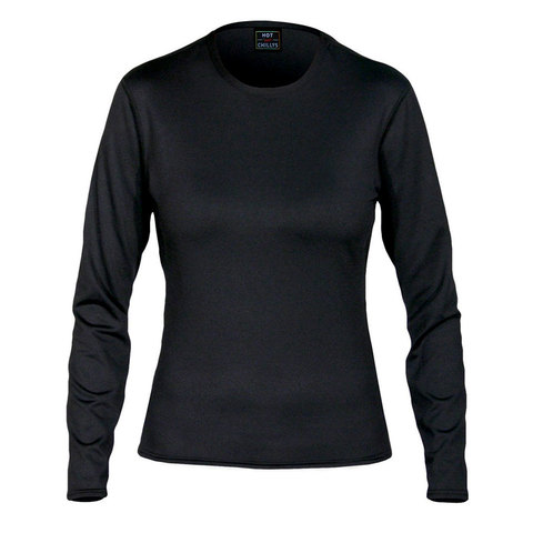Hot Chillys Micro Elite Chamois 8K Crewneck Shirt - Womens