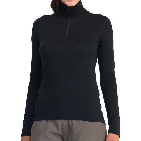 Icebreaker Oasis Long Sleeve Half Zip Base Layer - Women's