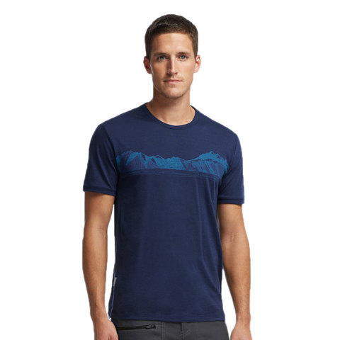 Icebreaker Tech Lite S/S Valley T Shirt